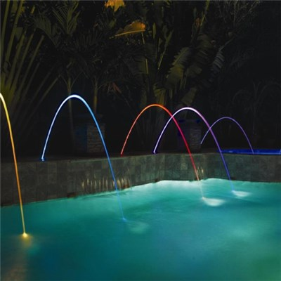 Static Laminar Jet Fountain
