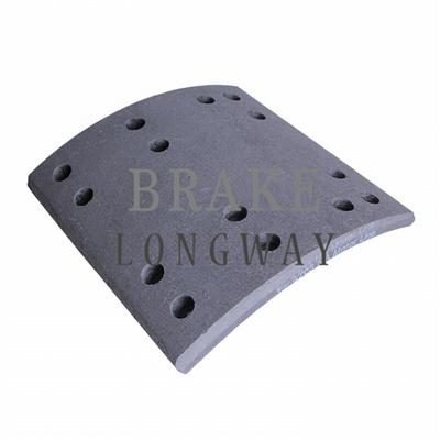 RW/32/1 WVA (19719) Truck Brake Lining For ERF,Iveco,Rockwell
