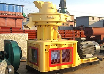 Working Principle of the Saw Dust Pellet Machine
