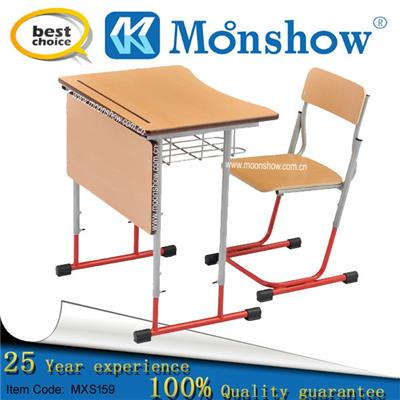 Adjustable Study Table And Chair Set School Furniture,china Export