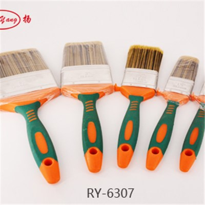 Chemical Filament Plastic Handle Flat Paint Brush