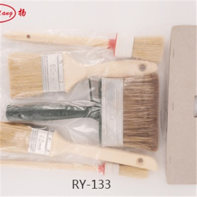 Polybag With Header Paint Brush Set