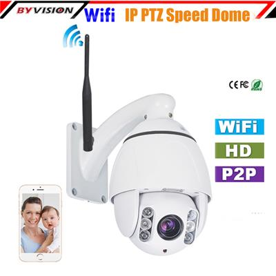 High Speed Dome Wifi PTZ IP Camera
