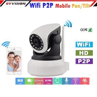 Wireless Pan Tilt IP Camera