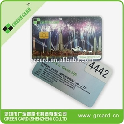 sle4428 contact card