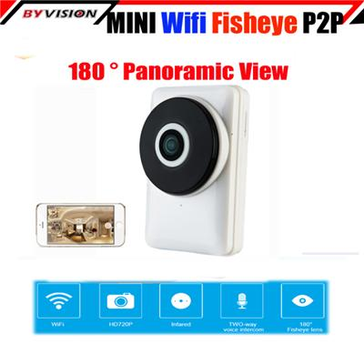 Panoramic Fisheye IP Camera