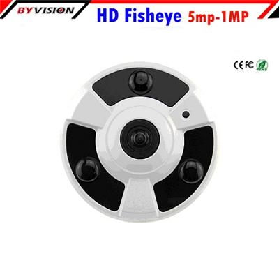 180 Degree Fisheye IP Camera