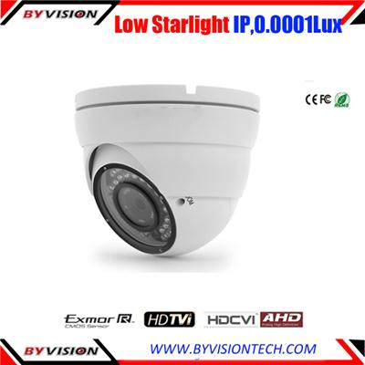 Starlight Dome IP Camera