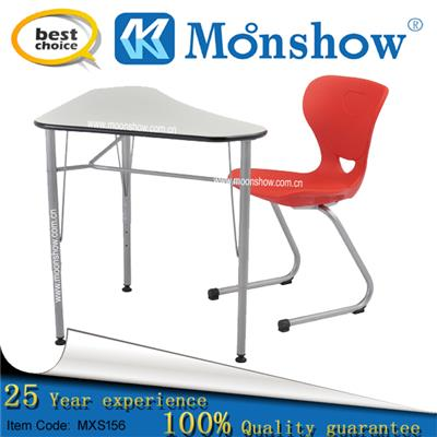 Wholesale School Desk With Chair Of School Furniture,zhejiang MOONSHOW