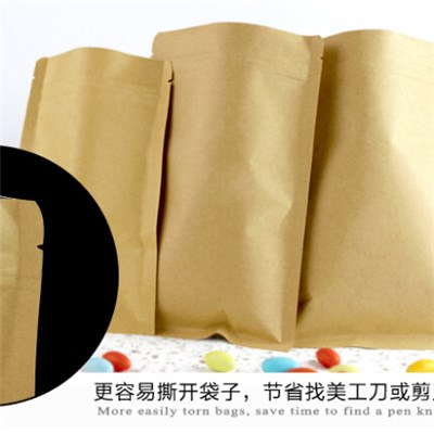 Brown Kraft Paper Bag Use Use For Food
