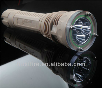 Plastic Rechargeable Diving Flashlight