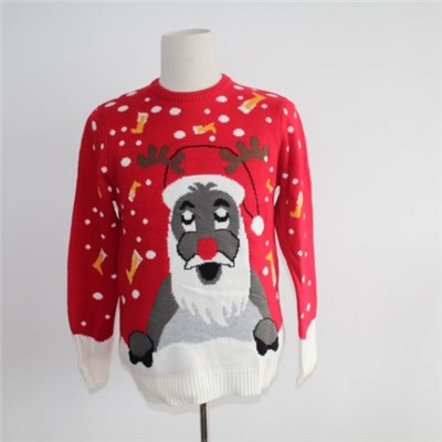 Ugly Santa Christmas Crew Neck Sweater