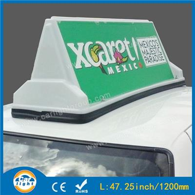 Magnetic Taxi Advertising Top Light