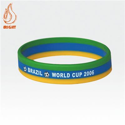 Silicone Wrist Band With Embossed Logo