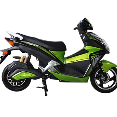 1000W 72V 20AH Intelligent Attractive Lead Acid Electric Sport Motorcycles