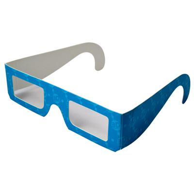 Paper Red Blue 3d Glasses