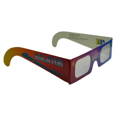 Linear Polarized 3D Paper Glasses