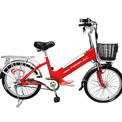 22 Inches 350W Smart High-end Lithium Battery Electric City Bikes