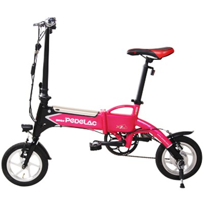 12 Inches 240W 36V 10AH Lithium Battery Pedal Electric Folding Bikes
