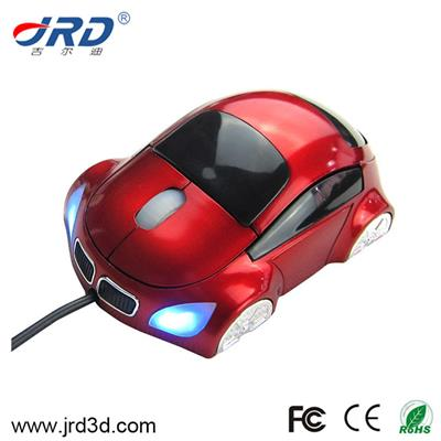 Car Shape Wired Mouse