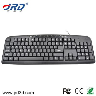 Multimedia USB Wired Keyboard