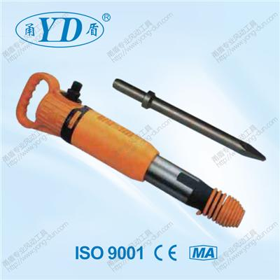 Used For Municipal Construction Have Broken The Old Concrete Pavement Damage Pneumatic Hammer