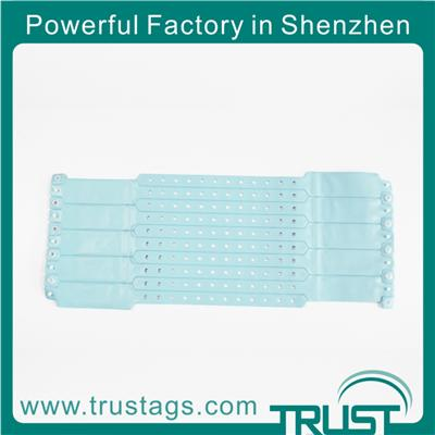 Adjustable Smart Waterproof Disposable Wristband Tag