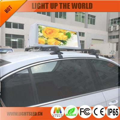 p5 taxi roof display for advertising