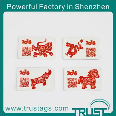 Twelve Chinese Zodiac Signs Anti Metal Tags