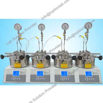 Parallel Micro High Pressure Laboratory Reactor