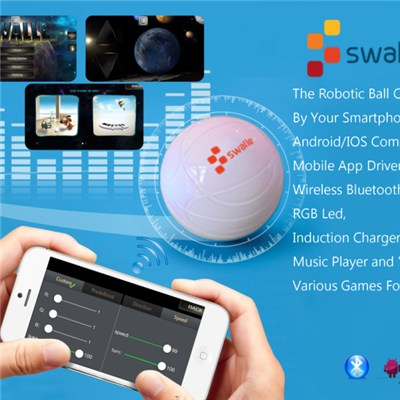 Phone Remote Control Robotic Ball