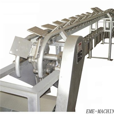 Pig Carcass Pre-Skinning Conveying Machine