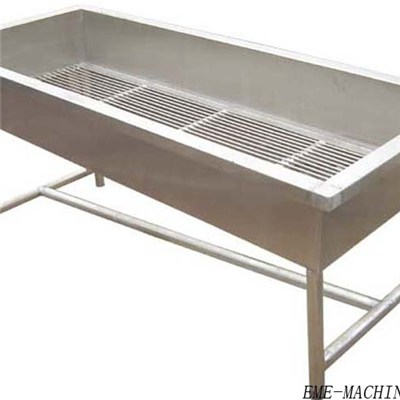 Poultry Carcass Collection Trough