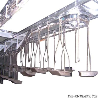 Pig Red Viscera Hanging Type Automatic Conveying System