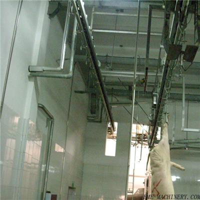 Pig Abattoir Tube Type Manual Over Head Convey Rail