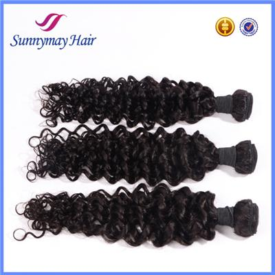 Top Quality Unprocessed Wholesale 100% Brazilian Human Virgin Deep Curly Hair Extensions For Black Women