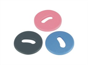 Button Shape Laundry Tag