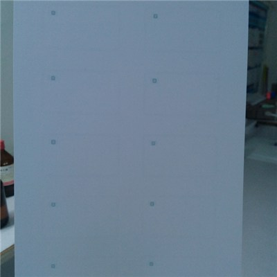 A4 Size PVC Inlay Sheet For Smart Card