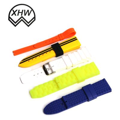 Color Silicone Watch Strap