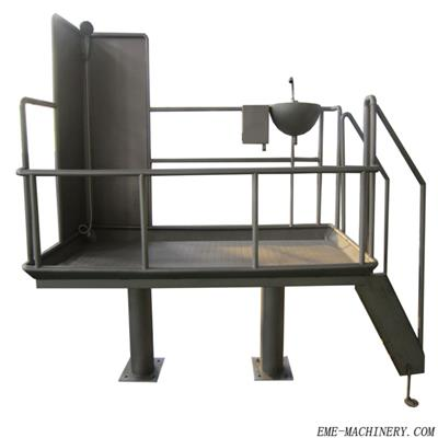 Pig Weighting Platform