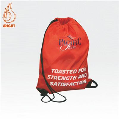 Custom Printed Polyester Draw String Bag