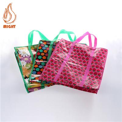 Promotional Coated Non-woven Handbag With Logo