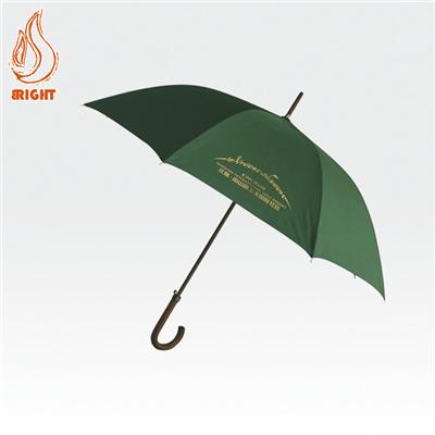 Custom Logo Windproof Golf Umbrella For Promotion Manual Open