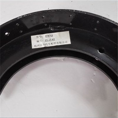 4707 Powder Coat Brake Shoe