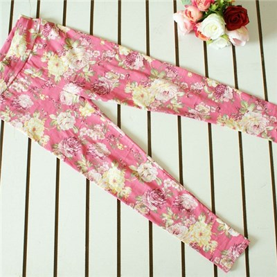 The New 2015 Summer Korean Pencil Pants, Fashion Printed Leggings Nine Minutes Of Pants Spot Of Cultivate One''s Morality