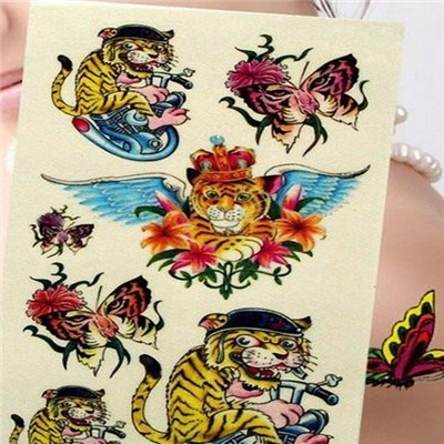 Creative Personality Is Waterproof Tattoo Stickers, Cartoon DongManTie Paper, South Korea Tattoo Stickers,Welcome To Sample Custom