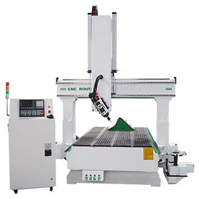 Rotary Head 4 Axis CNC Router