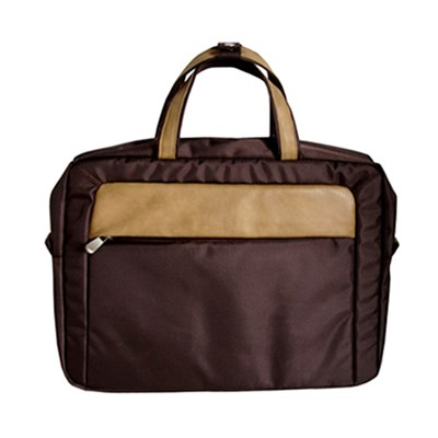 1680D+PU Leather Laptop Bag