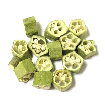 Freeze Dried Okra