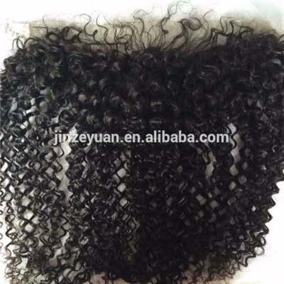 Human Hair Curly Lace Frontal